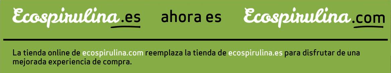 Ecospirulina.es pasa a Ecospirulina.com